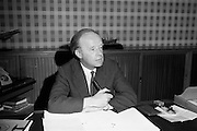 06/04/1964<br /> 04/06/1964<br /> 06 April 1964<br /> Mr Erskine Childers, Minister of Lands and Fisheries.