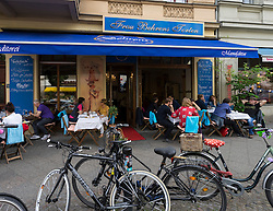 Frau Behrens Torten Konditorei cake shop and cafe on Bergmannstrasse in Kreuzberg Berlin Germany