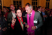 BERNIE KATZ; NICK EMLEY, Streetsmart Reception at 11 Downing St. London. 1 November 2011. <br /> <br />  , -DO NOT ARCHIVE-© Copyright Photograph by Dafydd Jones. 248 Clapham Rd. London SW9 0PZ. Tel 0207 820 0771. www.dafjones.com.