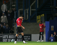 Photo: Lee Earle.<br /> Portsmouth v Manchester United. The FA Barclays Premiership. 15/08/2007.United's Cristiano Ronaldo leaves the pitch after being shown the red card.