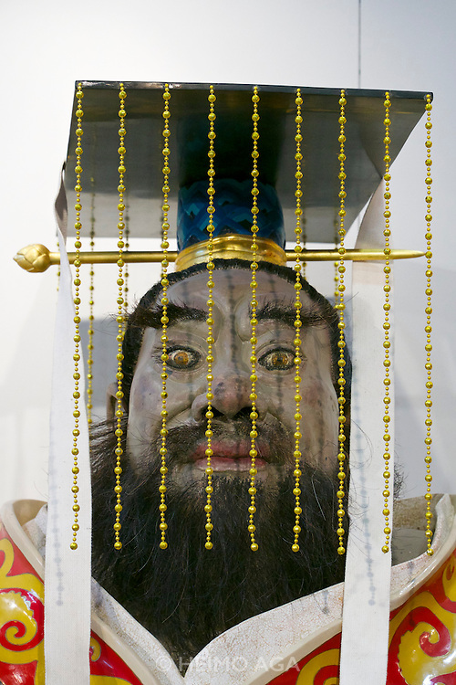 """55th Art Biennale in Venice - The Encyclopedic Palace (Il Palazzo Enciclopedico).<br /> Arsenale Nord. """"Passage to History: 20 Years of La Biennale di Venezia and Chinese Contemporary Art"""".<br /> Tian Shixin, """"The KIng·the First Emperor of Qin"""", 2009."""