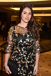 Lucy Pinder at The Asian Awards, The Hilton Park Lane, London England. 5 May 2017.<br /> Photo by Dominic O'Neill/SilverHub 0203 174 1069 sales@silverhubmedia.com