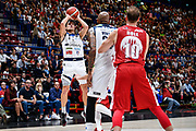 Laquintana Tommaso<br /> A X Armani Exchange Olimpia Milano - Germani Basket Brescia<br /> Basket Serie A LBA 2019/2020<br /> MIlano 29 September 2019<br /> Foto Mattia Ozbot / Ciamillo-Castoria