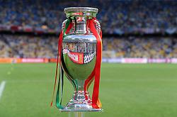 FUSSBALL  EUROPAMEISTERSCHAFT 2012   FINALE Spanien - Italien            01.07.2012 EM Pokal