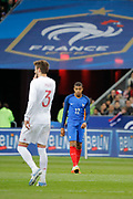 Kylian Mbappe (FRA), Gerard Pique (ESP) during the Friendly Game football match between France and Spain on March 28, 2017 at Stade de France in Saint-Denis, France - Photo Stephane Allaman / ProSportsImages / DPPI