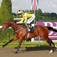 Pick A Little and Richard Hughes winning the 6.30 race