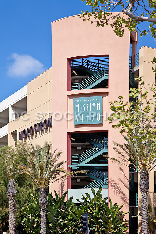 Parking Garage At The Shops At Mission Viejo