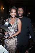 l to r: Vivica A. Fox and Paul Mooney at The 2009 NV Awards: A Salute to Urban Professionals sponsored by Hennessey held at The New York Stock Exchange on February 27, 2009 in New York City. ....