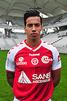 Diego Rigonato Rodrigues - 21.10.2014 - Photo officielle Reims - Ligue 1 2014/2015<br /> Photo : Philippe Le Brech / Icon Sport
