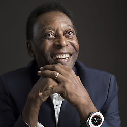 02,04,2019 Pele during a press conference in Paris