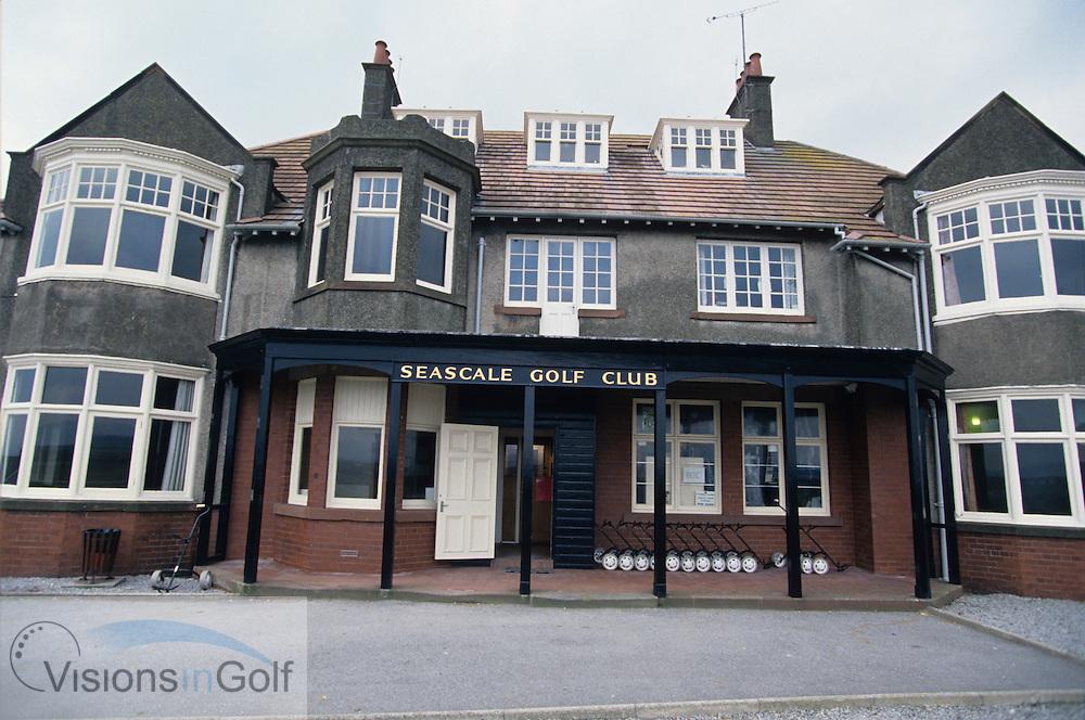 Seascale GC, Clubhouse, England, Uk, Photo Mark Newcombe