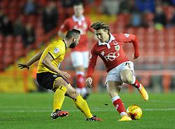 Bristol City's Luke Freeman turns - Photo mandatory by-line: Dougie Allward/JMP - Mobile: 07966 386802 - 11/11/2014 - SPORT - Football - Bristol - Ashton Gate - Bristol City v AFC Wimbledon - Johnstone Paint Trophy