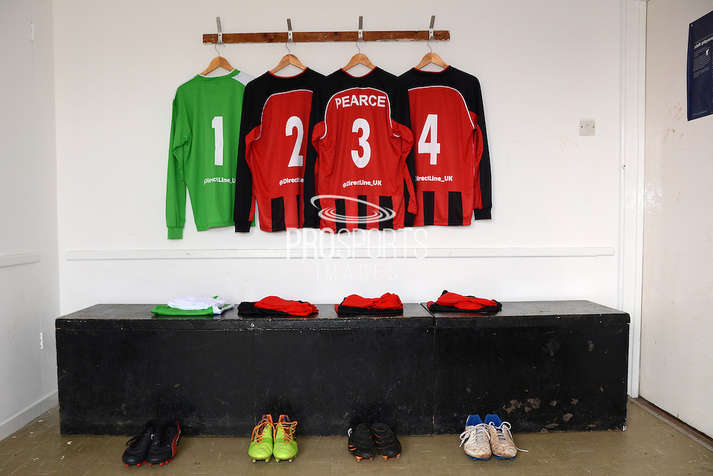 GLOUCESTERSHIRE, ENGLAND – MARCH 12: Stuart Pearce makes his debut for non-league Longford AFC as part of the #directfix campaign by Direct Line. Kit