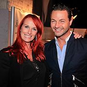 NLD/Amsterdam/20110919 - Modeshow Jos Raak 2011, Patty Zomer en Fred van Leer