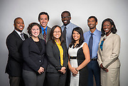 EMERGE staff pose for a photograph, September 2, 2014.