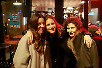 women friends at bar martin, Paris