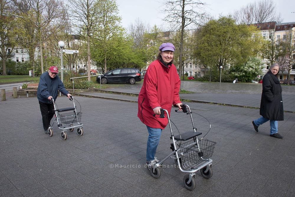 Rita, Maeid und Harald