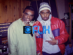Nas and Ron Isley, Island Def Jam, NYC Photographer,