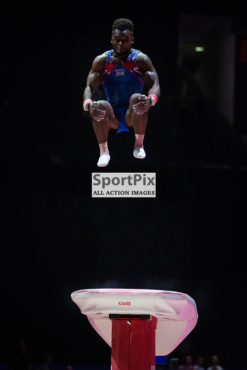 Courtney Tulloch of Great Britain competes in the Gymnastics Team Men Qualification - 2018 European Championships Glasgow, 9 August 2018. (c) Adam Oliver | sportPix.org.uk