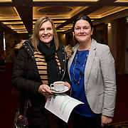 02.03.2017        <br /> Attending the Limerick City and County Councils Annual Tidy Towns Seminar 2017 at the Woodlands House Hotel Adare Co. Limerick were, Maura O'Neill, Limerick Tidy Towns and Jayne Power, Limerick City and County Council. Picture: Alan Place