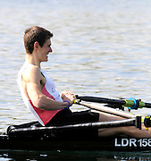 Eton, United Kingdom. Nicholas FEARNHEAD, competing in the Men's Lightweight Single Sculls  Sat. time trial.  2011 GBRowing Trials, Dorney Lake. Saturday  16/04/2011  [Mandatory Credit; Peter Spurrier/Intersport-images] Venue For 2012 Olympic Regatta and Flat Water Canoe events.