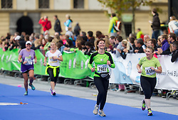 Athletes compete during 18th Ljubljana Marathon 2013 on October 27, 2013 in Ljubljana, Slovenia. (Photo by Vid Ponikvar / Sportida)