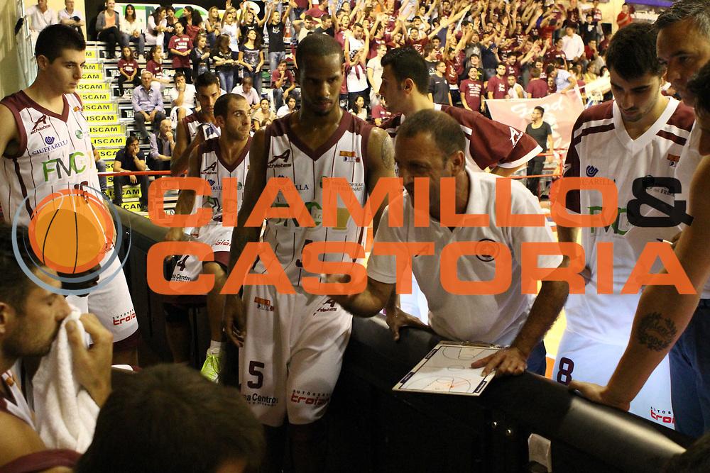 DESCRIZIONE : Ferentino Lega Basket A2 ottavi di finale qualificazioni final four eurobet 2012-13  Fmc Ferentino Prima Veroli <br /> GIOCATORE : team Gramenzi Franco<br /> CATEGORIA : time out<br /> SQUADRA : Fmc Ferentino<br /> EVENTO : Lega Basket A2 ottavi di finale qualificazioni final four eurobet 2012-13 <br /> GARA : Fmc Ferentino Prima Veroli <br /> DATA : 26/09/2012<br /> SPORT : Pallacanestro <br /> AUTORE : Agenzia Ciamillo-Castoria/ M.Simoni<br /> Galleria : Lega Basket A2 2012-2013 <br /> Fotonotizia : Ferentino Lega Basket A2 ottavi di finale qualificazioni final four eurobet 2012-13  Fmc Ferentino Prima Veroli <br /> Predefinita :