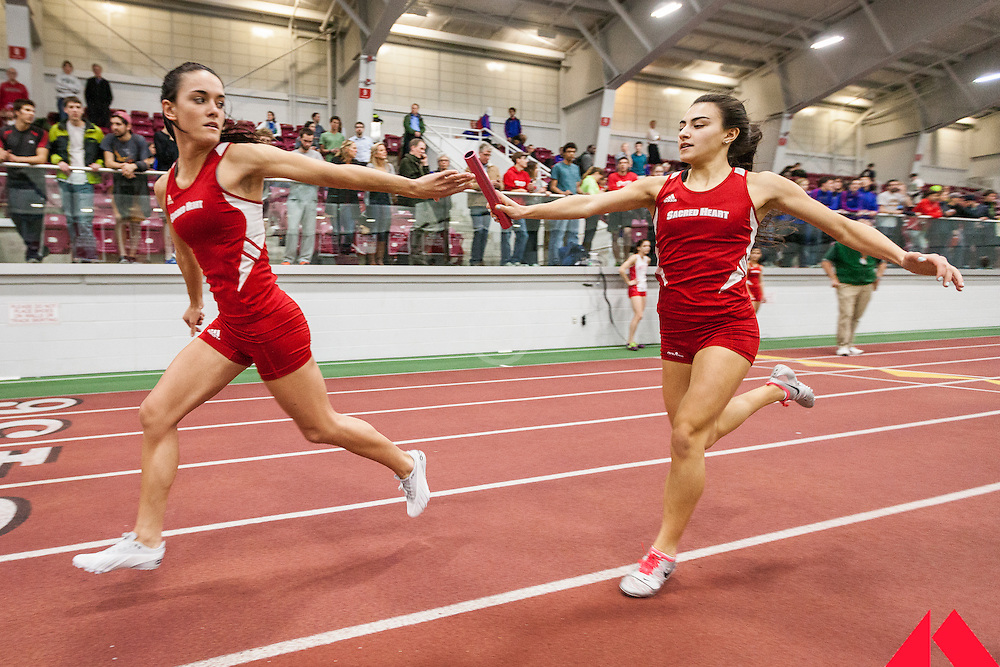 Boston University Multi-team indoor track & field meet, womens relay