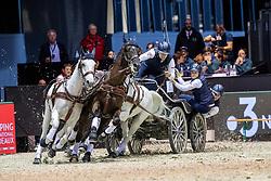 Geerts Glenn, BEL, Maestoso LI-10, Maestoso XLV-1-1, Maestoso XLV-3, Szellem<br /> Jumping International de Bordeaux 2020<br /> © Hippo Foto - Dirk Caremans<br />  09/02/2020