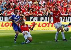 21.08.2011, coface Arena, Mainz, GER, 1.FBL, FSV Mainz 05 vs FC Schalke 04, Tor zum 1-0 durch Andreas IVANSCHITZ (AUT), FSV Mainz..// during the match from GER, 1.FBL, FSV Mainz 05 vs FC Schalke 04 on 2011/08/21, coface Arena, Stuttgart, Germany..EXPA Pictures © 2011, PhotoCredit: EXPA/ nph/  A.Huber       ****** out of GER / CRO  / BEL ******