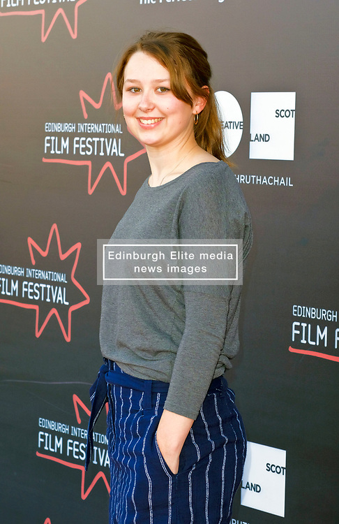 Edinburgh International Film Festival, Monday, 25th June 2018<br /> <br /> JELLYFISH (European Premiere)<br /> <br /> Pictured: Liv Hill<br /> <br /> (c) Alex Todd | Edinburgh Elite media