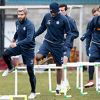 St Johnstone Training 30.03.18