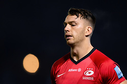 Alex Lewington of Saracens looks on during the pre-match warm-up - Mandatory byline: Patrick Khachfe/JMP - 07966 386802 - 29/11/2019 - RUGBY UNION - The Recreation Ground - Bath, England - Bath Rugby v Saracens - Gallagher Premiership