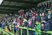 North stand during the EFL Sky Bet League 2 match between Forest Green Rovers and Coventry City at the New Lawn, Forest Green, United Kingdom on 3 February 2018. Picture by Shane Healey.