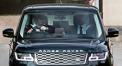 © Licensed to London News Pictures. 05/08/2020. London, UK. PRINCE ANDREW, DUKE OF YORK is seen driving himself from his residence at Royal Lodge at Windsor Great Park. Photo credit: Ben Cawthra/LNP