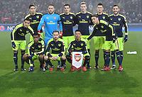 FUSSBALL CHAMPIONS LEAGUE SAISON 2016/2017 GRUPPENPHASE FC Basel - Arsenal London            06.12.2016 Mannschaftsbild Arsenal London