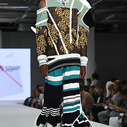 Designer Fraser Miller the Best of Graduate Fashion Week showcases at the Graduate Fashion Week 2018, June 6 2018 at Truman Brewery, London, UK.