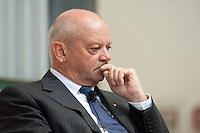 """02 JUL 2009, POTSDAM/GERMANY:<br /> Joachim Hunold, CEO Air Berlin, """"Kreative Zerstoerer der deutschen Wirtschaft"""", Konferenz der Financial Times Deutschland, Hasso-Plattner-Institut<br /> IMAGE: 20090702-01-173"""
