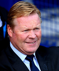 Everton manager Ronald Koeman - Mandatory by-line: Robbie Stephenson/JMP - 09/09/2017 - FOOTBALL - Goodison Park - Liverpool, England - Everton v Tottenham Hotspur - Premier League