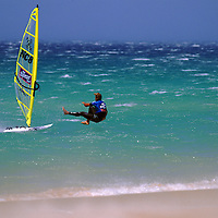 WINDSURF - TARIFA 93 / LAURENT GAUZERE<br />