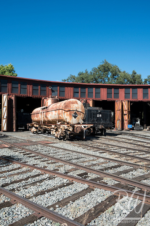 Railtown 1897 State Historic Park Trainyard, Jamestown, California