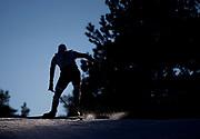 LAHTIS, FINLAND - 5 MARS: En skid&aring;kare under herrarnas 50 km mass start under FIS Nordic World Ski Championships den 5 mars , 2017 i Lahti, Finland. <br /> Foto: Nils Petter Nilsson/Ombrello<br /> ***BETALBILD***
