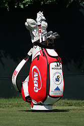 September 20, 2018 - Atlanta, GA, U.S. - ATLANTA, GA - SEPTEMBER 20: Gary Woodland's CDW golf bag during the first round of the PGA Tour Championship on September 20, 2018, at East Lake Golf Club in Atlanta, GA. (Photo by Michael Wade/Icon Sportswire) (Credit Image: © Michael Wade/Icon SMI via ZUMA Press)