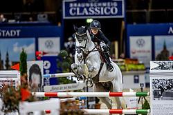 BORMANN Finja (GER), Grey Chester<br /> Preis der fair ground GmbH<br /> Int. jumping competiton against the clock (1,35-1,40m) - CSIYH1*<br /> Braunschweig - Classico 2020<br /> 06.03.20<br /> © www.sportfotos-lafrentz.de/Stefan Lafrentz