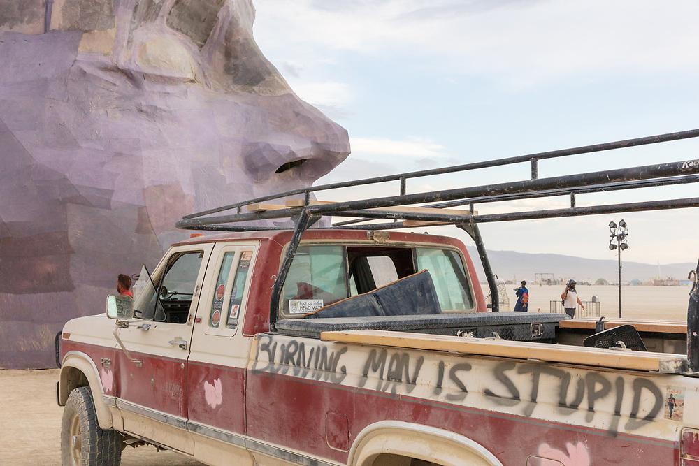 Burning Man Is Stupid.