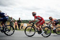 Amalie Dideriksen (DEN) at Ladies Tour of Norway 2018 Stage 1, a 127.7 km road race from Rakkestad to Mysen, Norway on August 17, 2018. Photo by Sean Robinson/velofocus.com