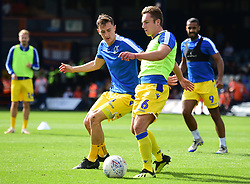 Sam Matthews of Bristol Rovers Tom Lockyer of Bristol Rovers - Mandatory by-line: Alex James/JMP - 15/09/2018 - FOOTBALL - Kenilworth Road - Luton, England - Luton Town v Bristol Rovers - Sky Bet League One