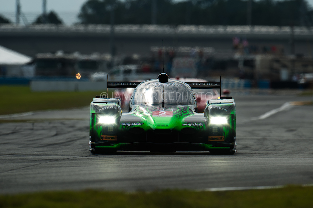 January 22-25, 2015: Rolex 24 hour. 2, Honda, HPD ARX-04b, P, Ed Brown, Johannes van Overbeek, Jon Fogarty