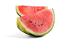 Watermelon on white background  - studio shot