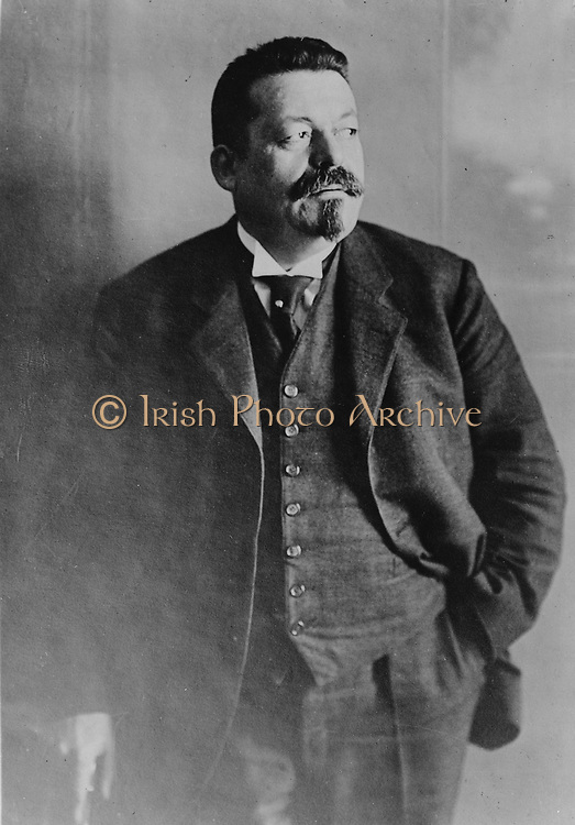 Friedrich Ebert (1871–1925)  German politician (SPD). Served as Chancellor of Germany and its first President during the Weimar period. Photograph February 1921.